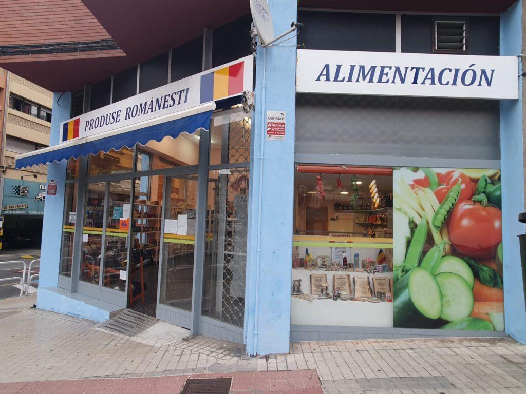 Supermercado rumano en Pamplona